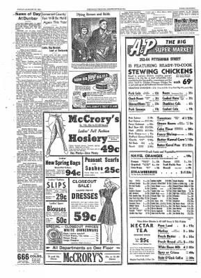 The Daily Courier from Connellsville, Pennsylvania on January 27, 1939 · Page 13