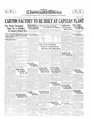 The Daily Courier from Connellsville, Pennsylvania on February 14, 1930 · Page 1