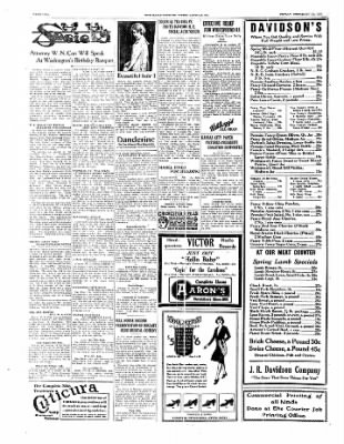 The Daily Courier from Connellsville, Pennsylvania on February 21, 1930 · Page 2