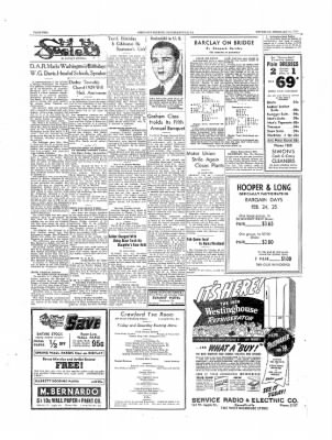 The Daily Courier from Connellsville, Pennsylvania on February 23, 1939 · Page 2