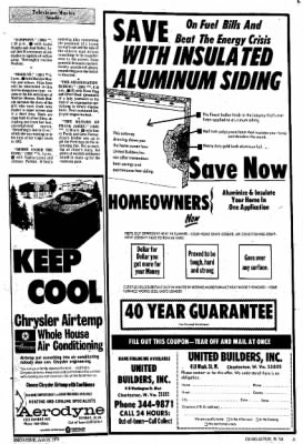 Sunday Gazette-Mail from Charleston, West Virginia on June 23, 1974 · Page 74