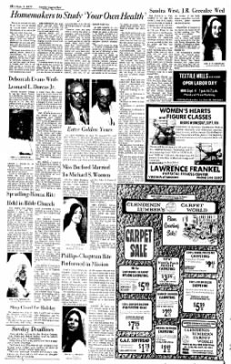Sunday Gazette-Mail from Charleston, West Virginia on September 3, 1972 · Page 40