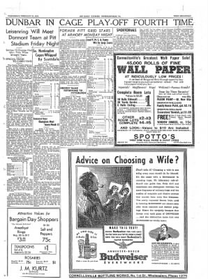 The Daily Courier from Connellsville, Pennsylvania on February 23, 1938 · Page 17