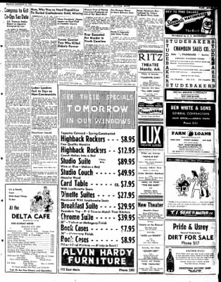 The Courier News from Blytheville, Arkansas on October 31, 1947 · Page 7