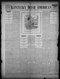 Sample Kentucky Irish American front page
