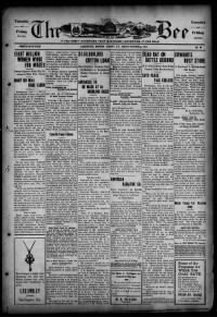 Sample The Bee front page