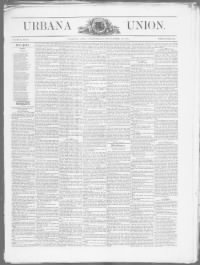 Sample Urbana Union front page