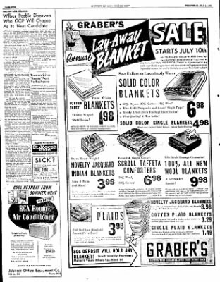 The Courier News from Blytheville, Arkansas on July 9, 1952 · Page 1