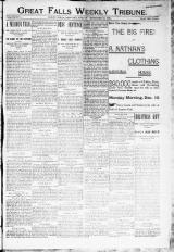 Great Falls Weekly Tribune