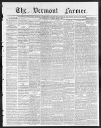 Sample Vermont Farmer front page