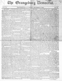 Sample The Orangeburg Democrat front page
