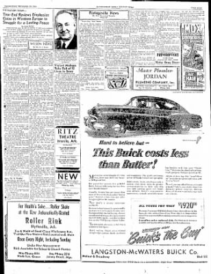 The Courier News from Blytheville, Arkansas on December 28, 1949 · Page 5