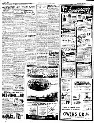 The Courier News from Blytheville, Arkansas on February 15, 1950 · Page 2