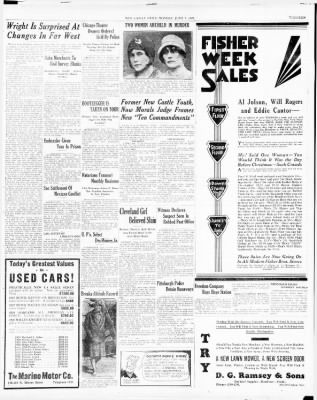 New Castle News from New Castle, Pennsylvania on June 3, 1929 · Page 13