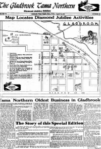 Sample The Gladbrook Tama Northern front page