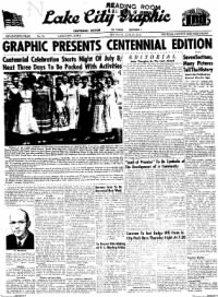 Sample Lake City Graphic front page