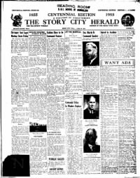 Sample The Story City Herald front page