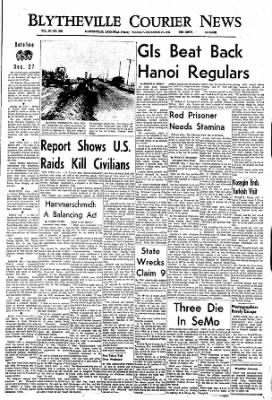 The Courier News from Blytheville, Arkansas on December 27, 1966 · Page 1