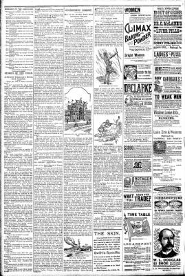 Logansport Pharos-Tribune from Logansport, Indiana on April 25, 1891 · Page 6