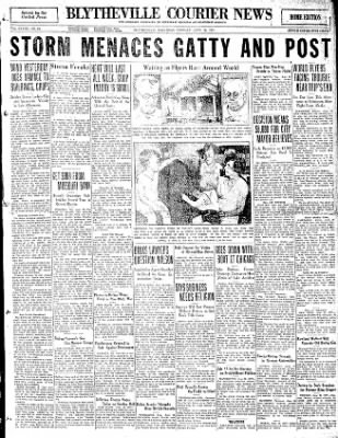 The Courier News from Blytheville, Arkansas on June 30, 1931 · Page 1