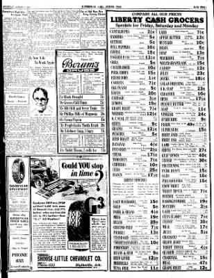 The Courier News from Blytheville, Arkansas on August 2, 1934 · Page 3