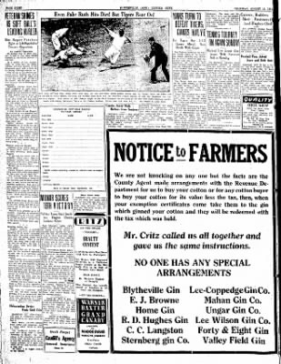 The Courier News from Blytheville, Arkansas on August 16, 1934 · Page 8