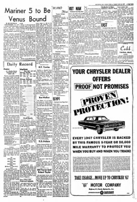 The Courier News from Blytheville, Arkansas on June 13, 1967 · Page 3