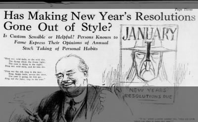 Resolutions Debated Again, 1926
