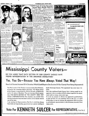 The Courier News from Blytheville, Arkansas on August 9, 1952 · Page 3