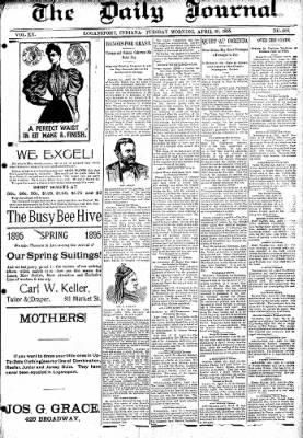 Logansport Pharos-Tribune from Logansport, Indiana on April 30, 1895 · Page 1