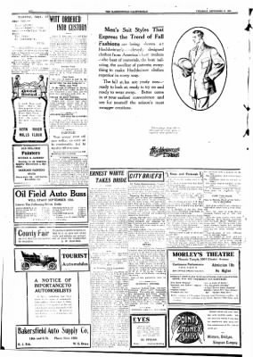 The Bakersfield Californian from Bakersfield, California on September 17, 1908 · Page 4