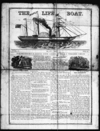 Sample The Life Boat front page