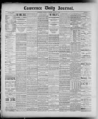 Sample Lawrence Daily Journal front page