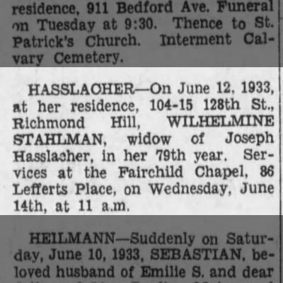 The Brooklyn Daily Eagle (Brooklyn, New York) - Monday, 12 Jun 1933 p11