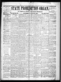 Sample State Prohibition Organ front page