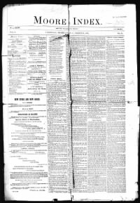 Sample Moore Index front page