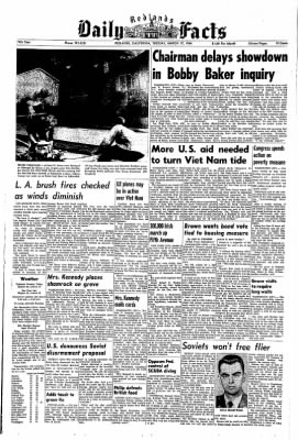 Redlands Daily Facts from Redlands, California on March 17, 1964 · Page 1