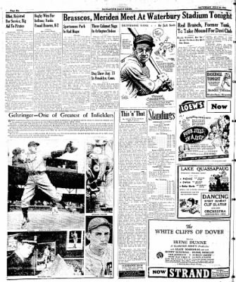 Naugatuck Daily News from Naugatuck, Connecticut on July 22, 1944 · Page 6
