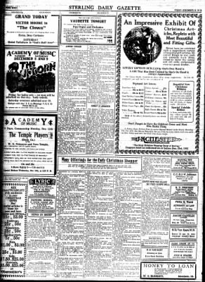 Sterling Standard from Sterling, Illinois on December 8, 1916 · Page 8