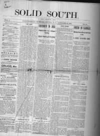 Sample Solid South front page