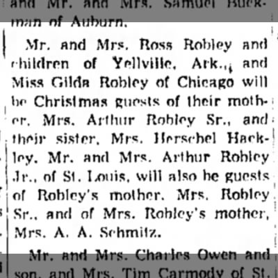 Ross Robley of Yellville, Ark-alton Evening Telegraph-page 30-22 Dec 1953