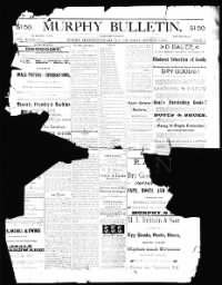 Sample Murphy Bulletin front page