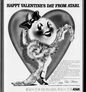 Happy Valentine's Day From Atari