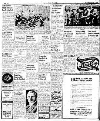 Naugatuck Daily News from Naugatuck, Connecticut on August 21, 1944 · Page 2