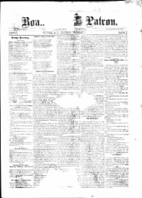 Sample Roanoke Patron front page