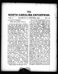 Sample The Enterprise front page