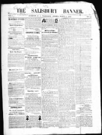 Sample Salisbury Banner front page