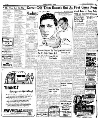Naugatuck Daily News from Naugatuck, Connecticut on September 26, 1944 · Page 6