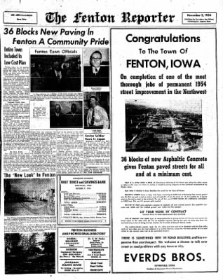 The Algona Upper Des Moines from Algona, Iowa on November 2, 1954 · Page 17