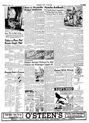 The Courier News from Blytheville, Arkansas on April 3, 1954 · Page 3